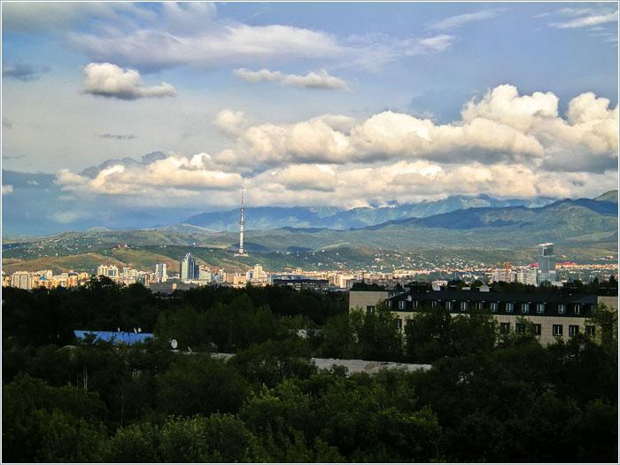 Алма-Ата. Медео. Казахстан
