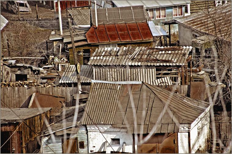 Боровск. Крыши