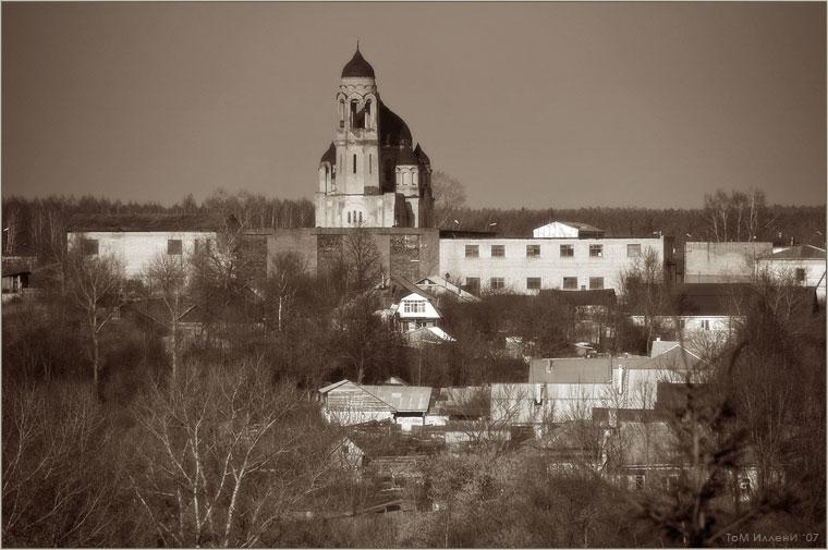 Боровск. Вид сверху