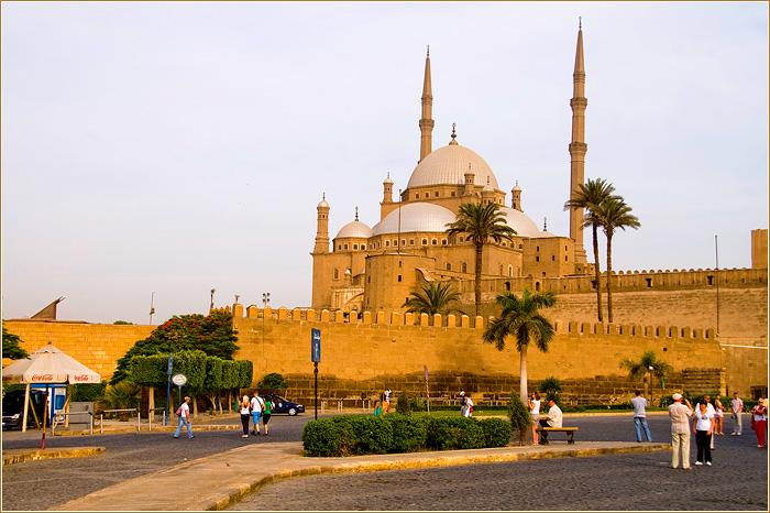 Каирская цитадель. Мечеть Мухаммеда Али в Каире.