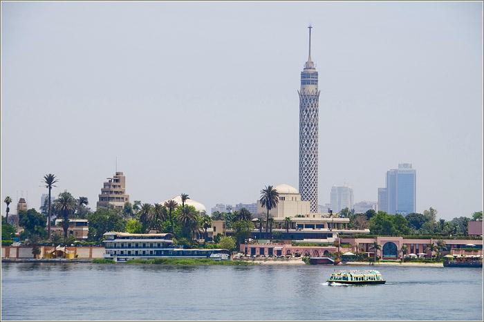 Город Каир. Каирский музей и река Нил