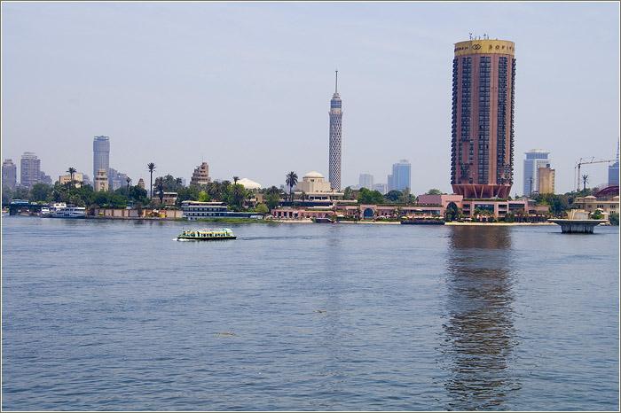 Город каир каирский музей и река нил