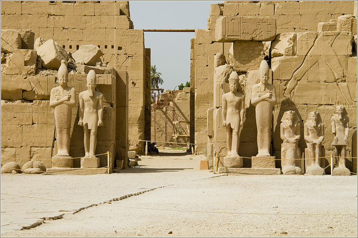 Карнакский храм. Луксор (Фивы).