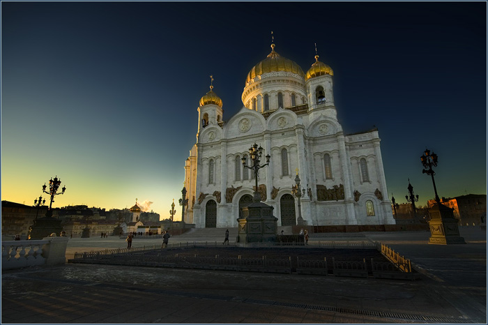 Храм Христа Спасителя. Фото.