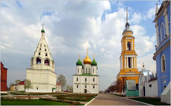 Ока - Москва-река.  Коломна