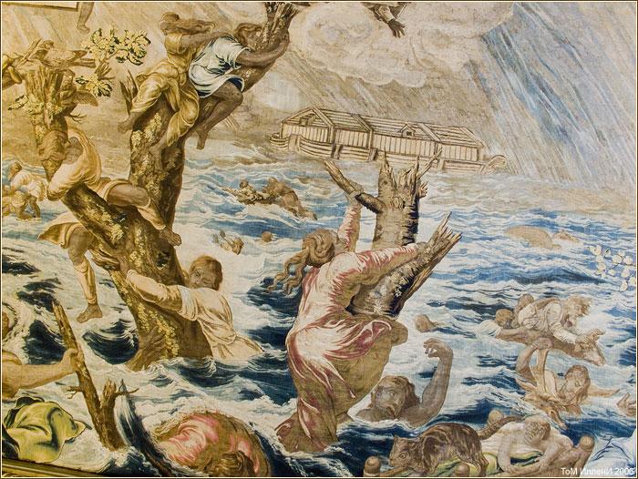 Замок Майендорф в Барвихе. Гобелен Всемирный потоп