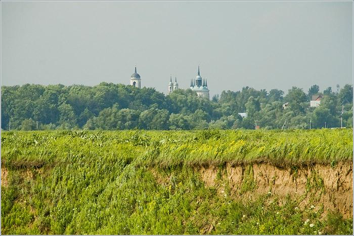 Москва река церковь владимирской