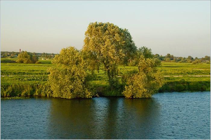 Москва река природная экологическая