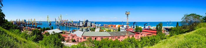 Порт Одесса. Фото.