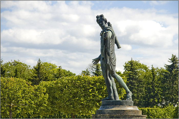 Петергоф. Петродворец. Статуя