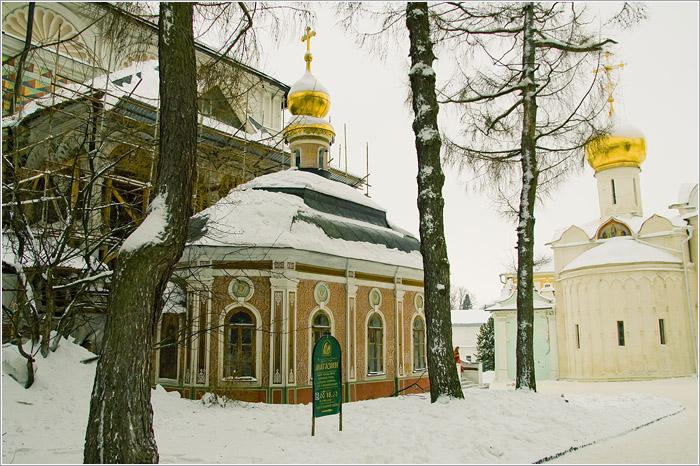 Михеевская церковь (1734).Свято - Троице Сергиева Лавра. Сергиев посад.