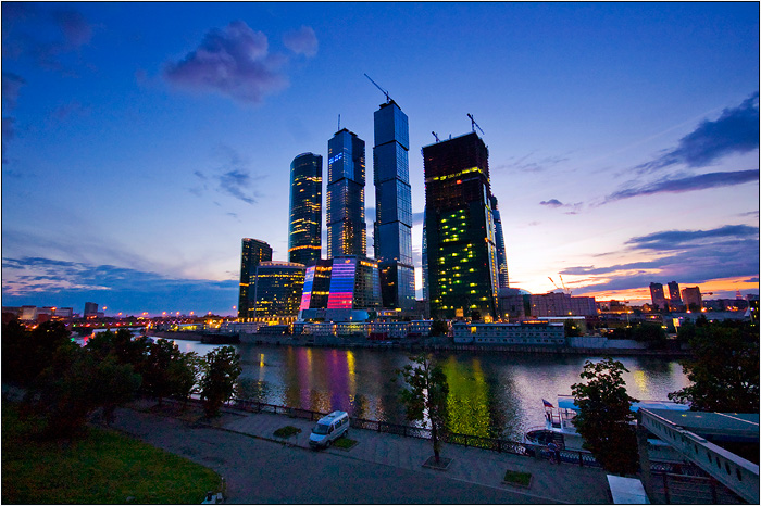 Москва-Сити 2009 г.