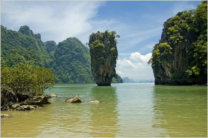 Тайланд. национальный парк Пханг-Нга. Остров Джеймса Бонда.