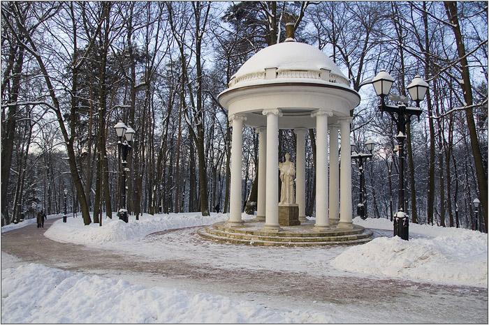 Золотой сноп. Царицыно парк - усадьба