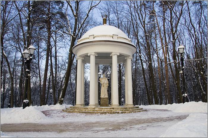 Беседка Золотой сноп в Царицыно