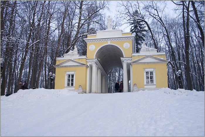 Павильон Миловида в Царицынском парке