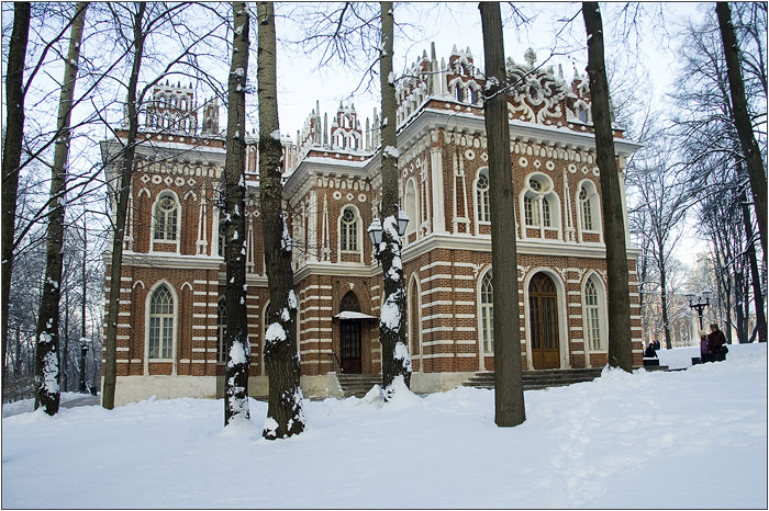Оперный дом. Дворец для приёмов. Царицыно парк - усадьба.