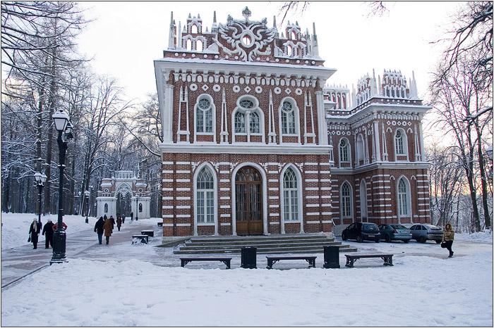 Царицыно - средний дворец - оперный дом