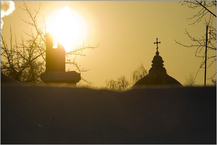 Царицыно. Церковь.