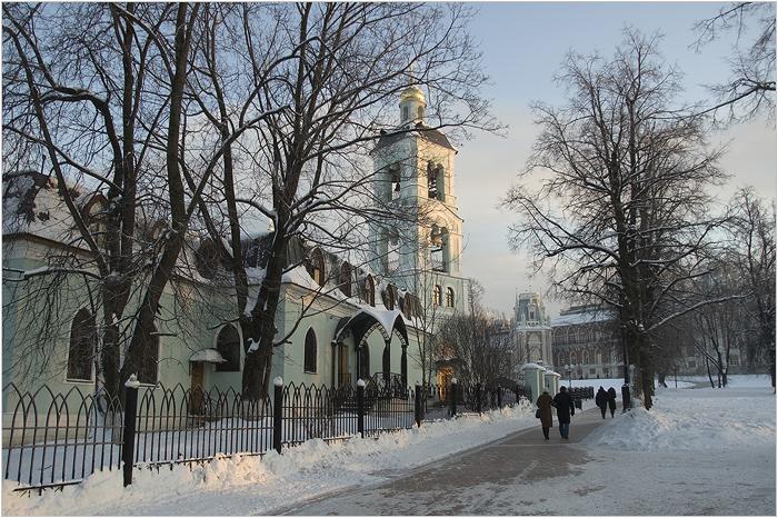 Церковь Иконы Божией Матери Живоносный Источник. Царицыно