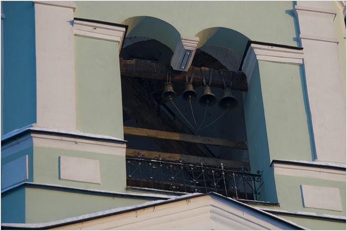 Колокола на церкви в Царицыно
