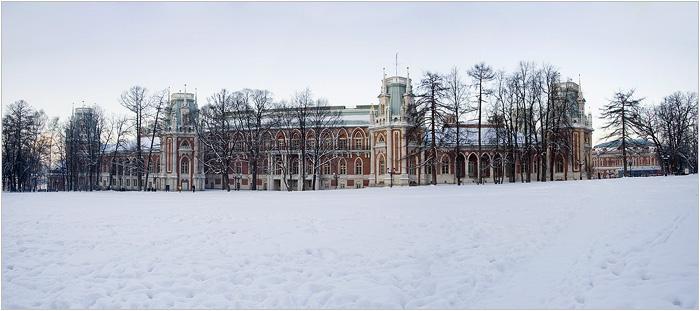 Большой дворец. Царицыно парк - усадьба.
