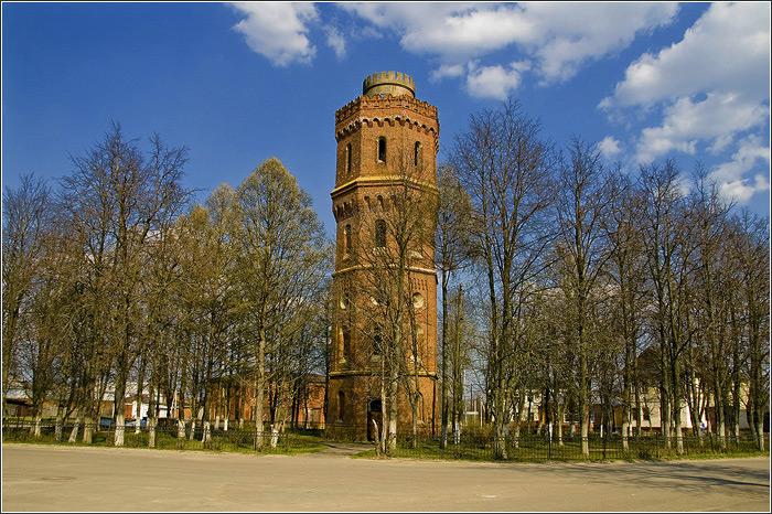 Водонапорна башня в брянске